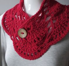 PATTERN C-017 / Crochet Pattern / April Cowl por BellaMaePatterns