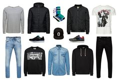 Picks for a fresh start of the NEW SCHOOL YEAR!  Are you ready or not yet? #men #jackandjonesme #fashion