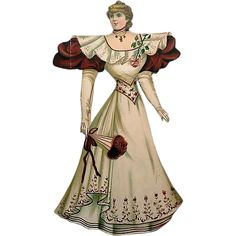 Raphael Tuck 1894 Paper Doll from ccampy on Ruby Lane