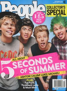 People Magazine 2014 Collector's Special 5 Seconds of Summer | eBay