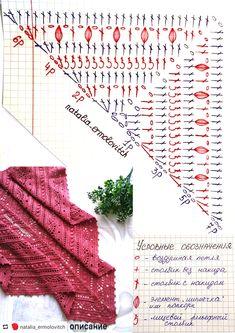 Crochet Shrug Pattern, Crochet Diagram, Crochet Poncho, Crochet Chart, Crochet Granny, Crochet Scarves, Crochet Lace, Crochet Stitches, Crochet Patterns