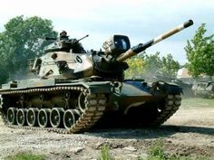 M60A3 tank of the Portuguese Army)