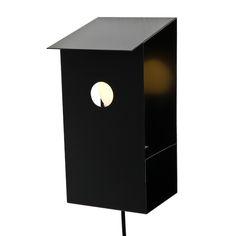 Lintukoto lamp, black