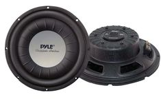 Car Vehicle Subwoofer Audio Speaker - 10 Inch 1000 Watt Power Ultra Slim DVC Subwoofer w/ Dual Kapton Voice Coil, 4 Ohm Impedance, 60 Oz Magnet - for Vehicle Stereo Sound System - Pyle Best Subwoofer, 12 Inch Subwoofer, Small Subwoofer, Powered Subwoofer, Jl Audio, Audio Speakers, Car Best, Car Audio Systems, Rockford Fosgate