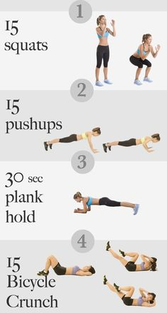 6 Minutes Early Morning Routine Before Shower | 14 Best Fitness Workouts from Head to Toe You Can Easily Start With by Makeup Tutorials at http://makeuptutorials.com/14-best-fitness-workouts-head-toeyou-can-start/ #Diet