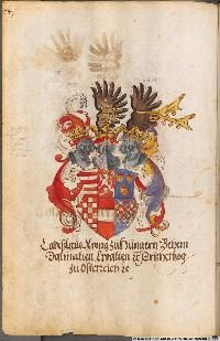 Image 00128 Kaiser Karl, Friedrich Ii, Painting, Image, Art, Roman Emperor, Munich Germany, Family Crest, Roman Britain
