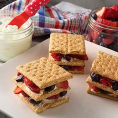 Serve these tasty sandwiches within an hour of assembly.