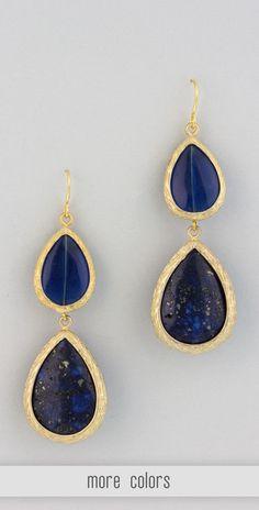 Classic tear drop earrings