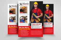 Handyman & Plumber Services Flyer by @Graphicsauthor