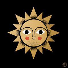 SUNday SUN No. 003 by Tad Carpenter