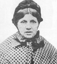 Mary Ann Cotton was an English serial killer believed to have murdered 21 people. It was discovered that Mary Ann had murdered three of her husbands, a lover, a friend, her mother, and a dozen children, all of whom had died of stomach fevers. She poisoned them all with arsenic. Her motive was either to gain insurance money or to pave way for a new marriage. She was hanged March 24, 1873. She died slowly, the hangman using too short a drop for a 'clean' execution.