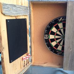 First ETSY Order Off To Its New Home In New Brunswick. Dart BoardDartsNew  HomesCabinets