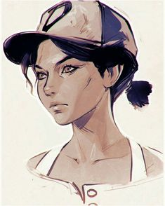 Kuvshinov Ilya ✎ The Walking Dead: A New Frontier's Clementine! The Walking Ded, The Walking Dead Telltale, Walking Dead Art, The Walking Dead Personajes, King's Quest, Game Character, Character Design, Clementine Walking Dead, Kuvshinov Ilya