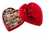 Godiva Satin Heart Collection