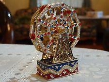 Estee Lauder Solid Perfume Compact Ferris Wheel 2000