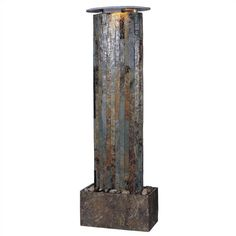 Found it at Wayfair - Aveline Wall Slate Floor Fountain