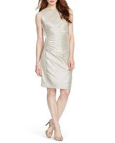 Lauren Ralph Lauren Dress - Ruched Metallic