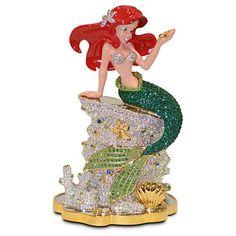 Disney The Little Mermaid Ariel Jeweled Figurine by Arribas New LE 2000