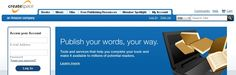CreateSpace.com: Self-publishing and free distribution tools for books, CDs, DVDs