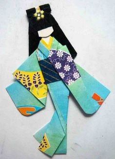 Japanese paper doll for melrae