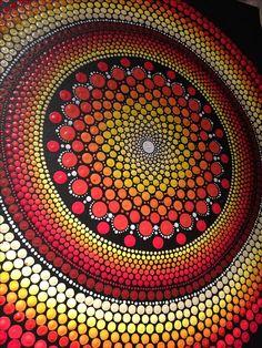 Dot Art Painting, Mandala Painting, Tole Painting, Mandala Pattern, Mandala Design, Pattern Art, Mandala Canvas, Mandala Art Lesson, Girly Drawings