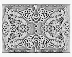 3D model Celtic Ornament celt Celtic, Lion Sculpture, Statue, 3d, Ornaments, Architecture, Model, Arquitetura