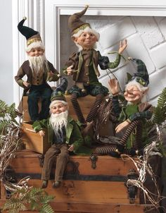 Love elves! So are these elves the ones that clean my house while I sleep?
