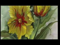 """The Beauty of Oil Painting, Series 1, Episode 18 """" Painters Tulips """" - YouTube"""