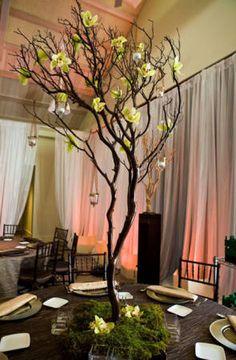 Como gastar pouco numa decoração para jantar de casamento chique