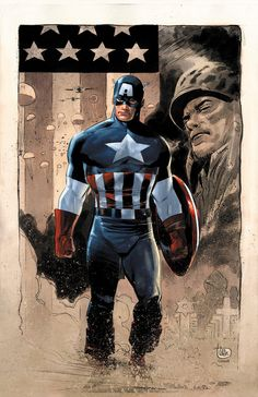 Captain America, LeeWeeks and Colwell by JeremyColwell on deviantART