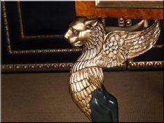 Empire stílusú antik bútorok - Antik bútor, egyedi natúr fa és loft designbútor, kerti fa termékek, akácfa oszlop, akác rönk, deszka, palló