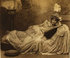 Miss Goelet as Scheherazade, at Duchess of Devonshire's Costume Ball (1897)