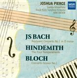 Bach: Concerto No. 1 in D minor; Hindemith: The Four Temperaments; Bloch: Concerto Grosso No. 1 [CD], 21138102