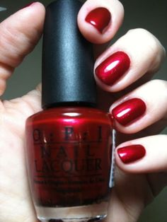 OPI  I'm Not Really A Waitress, my all time favorite polish! Nail Design, Nail Art, Nail Salon, Irvine, Newport Beach