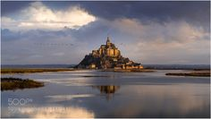 Mont St-Michel by TommyDebecker. Please Like http://fb.me/go4photos and Follow @go4fotos Thank You. :-)