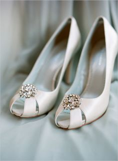 bejeweled wedding heels
