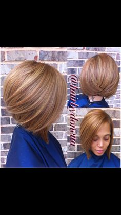 My type of bob Short Hair Cuts, Short Hair Styles, Natural Hair Styles, Love Hair, Gorgeous Hair, Hair Affair, Creative Hairstyles, Hair Dos, Bob Hairstyles