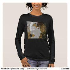 Klimt art Stylization Long Sleeve T-Shirt
