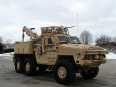 6x6 Armored Tow Vehicle. if i had one of these, i would have to start a tow service.