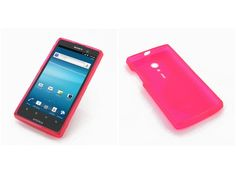 Pdair Soft Plastic Case for Sony Xperia Ion LT28i (Red)