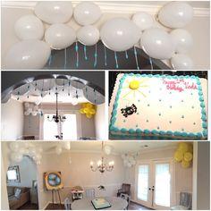 Itsy Bitsy Spider first birthday party