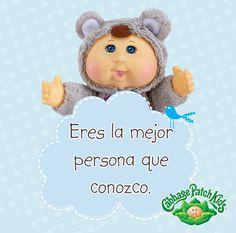 Eres la mejor persona que conozco. #cabbagepatch #cabbagepatchkids #sketchers #muñeca #niñas #abrazo #palaciodehierro #liverpool #comercialmexicana #walmart #soriana #sears #chedraui #coppel #juguetron #HEB