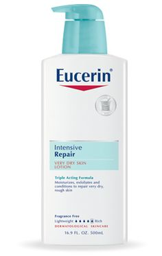 446 best Repair Dry Skin In Just Days images on Pinterest   Dry skin     Eucerin Intensive Repair Very Dry Skin Lotion Want to repair dry skin in  days  Look