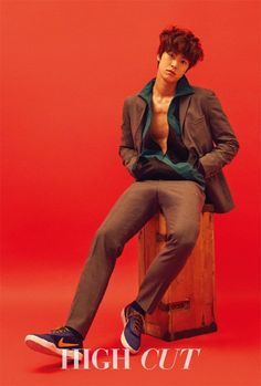 Gong Myung talks about 'We Got Married', brother Doyoung, 5urprise, and more in 'High Cut'   allkpop.com