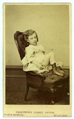 """carolathhabsburg:""""Little Prince Albert Victor (Eddie)"""" Queen Victoria Family, Victoria And Albert, Alexandra Of Denmark, Young Prince, English Royalty, Prince Albert, Queen Mary, European History, Prince And Princess"""