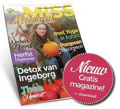 Hét magazine over natuurlijk leven en biologisch eten! Vraag Miss Natural magazine nu gratis aan