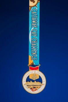 Castaway Cay Challenge Medal | Running at Disney | runDisney | #runDisney #CastawayCay5K #CastawayCayChallenge #DisneyCruiseLine #DCL #WDWMarathon #PrincessHalf