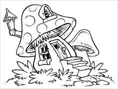 Printable Coloring Pages Of 22 Mario Mushroom 5333
