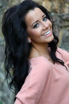 Perfect Long Black Homecoming Hairstyle - Homecoming Hairstyles 2013