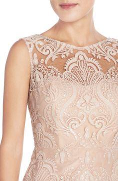 Jenny Yoo 'Harper' Sequin Lace Sleeveless Sheath Dress